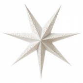 СТРОЛА Абажур для подвесн светильника, кружево белый, 100 см