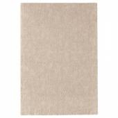 СТОЭНСЕ Ковер, короткий ворс, белый с оттенком, 133x195 см